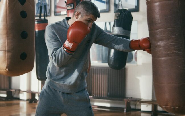 Liam Smith Boxer Matt Page Manchester Film Director ellesse Sport